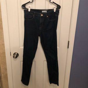 Dark blue modern skinny LOFT jeans